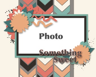 57 Chevies Digital Scrapbooking Templates #2