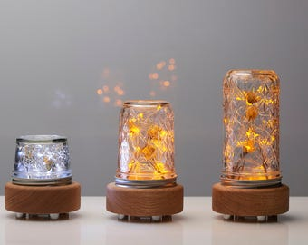 Glow Wood Lamp  by TwoWhales