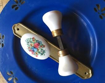Handles and knobs door handles vintage 1960 's