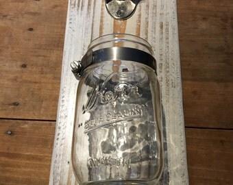 White Pallet Wood Bottle Opener