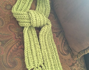 Handmade crochet women's scarf