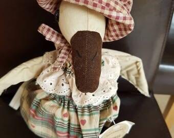 Vintage Quackers Duck Doll