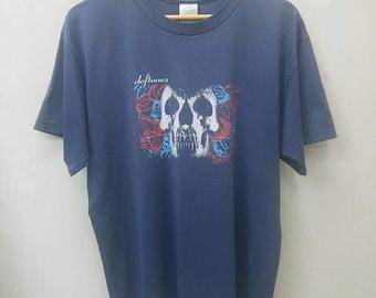 Reserve brrianamarie1..Vintage Band DEFTONES Music T-shirt/Nu Metal/Alternative Metal T-shirt Large Size