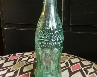 Vintage Coca Cola Soda Bottle 1948 D-Pat Series