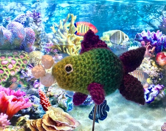 Bubbles the Goldfish - FREE Crochet Amigurumi Digital Downloadable Pattern