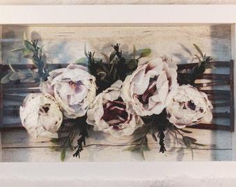 Original WWDH Bohemia Floral Framed Wall Art