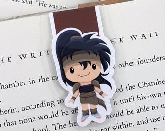 Koga Magnetic Bookmark, Planner Clip, Anime, Manga, Inuyasha