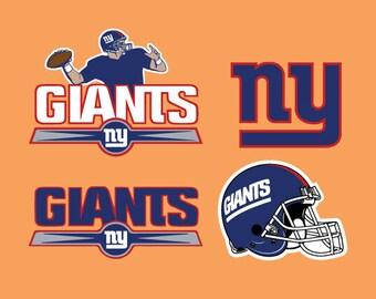 New York Giants Logo Etsy