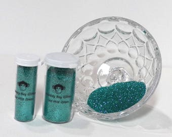 Sea Mist Green Glitter-Extra Fine 0.008-Many Other Color Options-2 Sizes-Visit My Store!