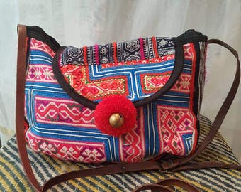 Ethnic hmong, bag boho tribal bag