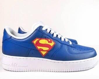 SUPERMAN Nike Air Force Ones Men