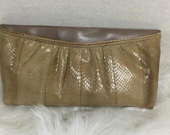1980's Lauren Alexander clutch purse vintage