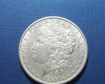 1889 morgan silver dollar!!!