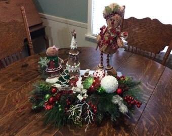 gingerbread christmas table decor