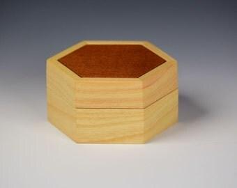 Keepsake box -  Ash and Spanish Cedar