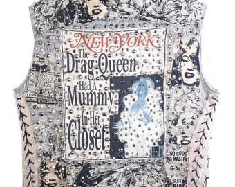 Dorian Corey/ Paris is Burning/ Drag Queen Vest