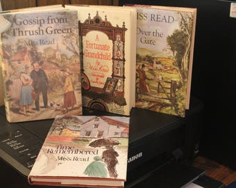 Miss Read Books: Over the Gate, Gossip from Thursh Green, A Fortunate Grandchild, and Time Remembered