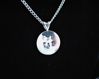 FAT FAT Charm Necklace