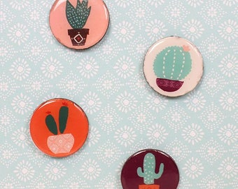 Cute Boho Cacti Fridge Magnets Home and Living Gift