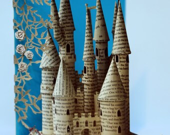 Fairy tale Castle Laser-cut Greeting Card