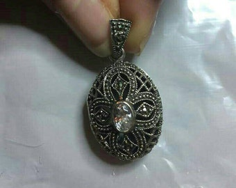 FLASH SALE!! Sterling Silver Diffuser Locket Necklace
