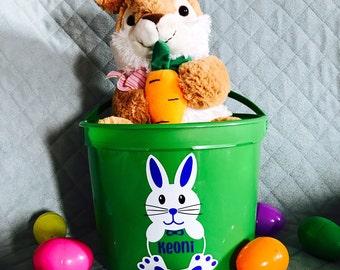Easter Basket Vinyl Etsy