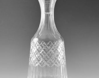 STUART Crystal - BLENHEIM Cut - Wine Decanter - 12""