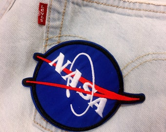 T/NASA/ free shipping iron on patch / embroidery  appliqués