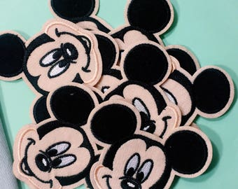 Mickey/free shipping iron on patch /embroidery appliqués/Ae