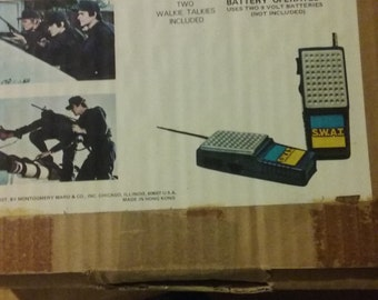 S.W.A.T. TV Show Walkie-Talkies