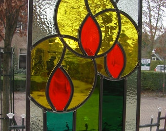 Stained Glass Candles