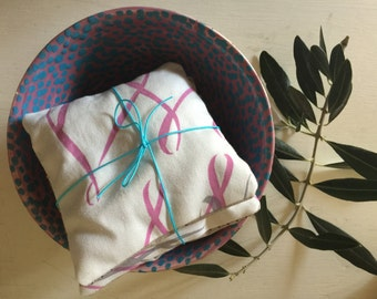 Hand printed lavender bundle