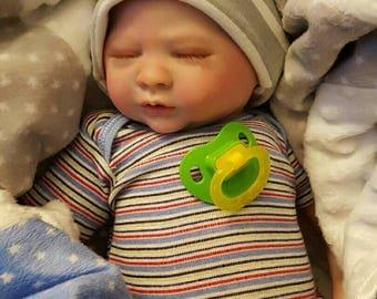 Reborn Baby Liam, Boy, 18in, Custom Order