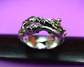 Silver Band Ring 4