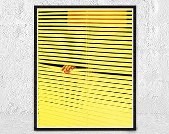 Yellow Wall Decor yellow wall art | etsy