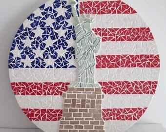 """Mosaic table """"USA"""