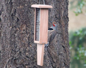 All Natural Redwood Double Suet Feeder