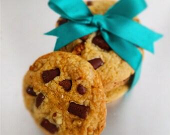 Chocolate Chunk Walnut Cookies