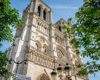 Notre Dame, Cathedral,Paris Photography, French Home Decor, Medieval, Paris Print, Fine Art Photography, Paris Wall Art, Paris Architecture