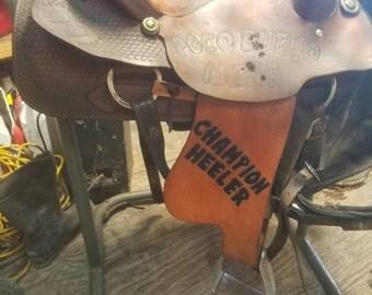Custom fenders for saddle