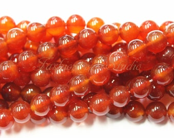 Carnelian Beads,4mm 6mm 8mm 10mm, Full Strand 15.5 inches, Gemstone Beads, Beading Suppliers, Jewelry Suppliers