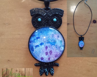 Necklace OWL pin