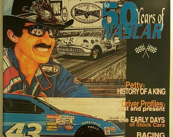 Richard Petty Official Guide 50 Years of NASCAR
