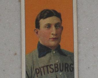 1909/10 T206 Honus Wagner Carolina Brights Cigarettes Back