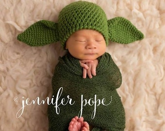 Baby Yoda Hat, Made to Order