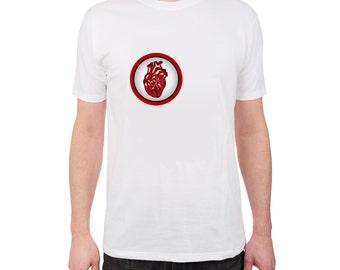 New T-Shirt Aware Heart