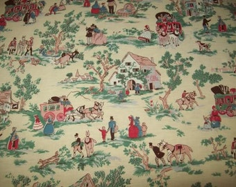 A lovely old fabric for children, coaches, ancient costumes