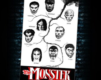 The Monster Club Limited Edition Canvas Giclee Vincent Price David Carradine