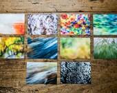 "Postkartenset ""Abstrakt"", 10 verschiedene Motive"