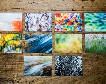 "Postcards set 'Abstract"", 10 different pictures"